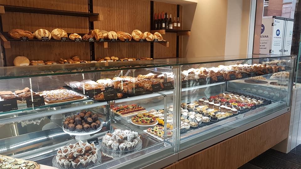 Panadería Girona Vitrina Jops - GB SERVEIS