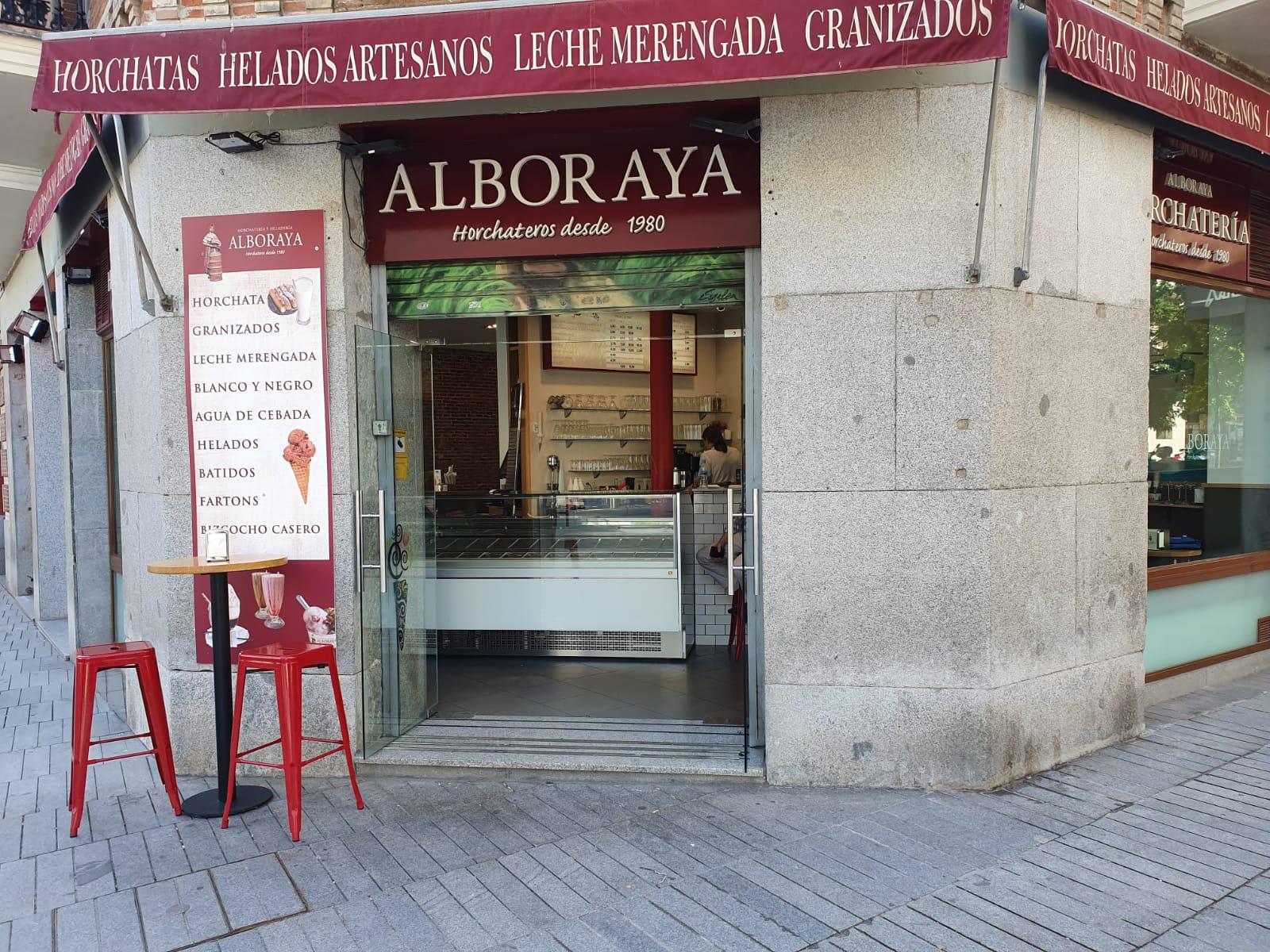 Virna vitrina en Madrid