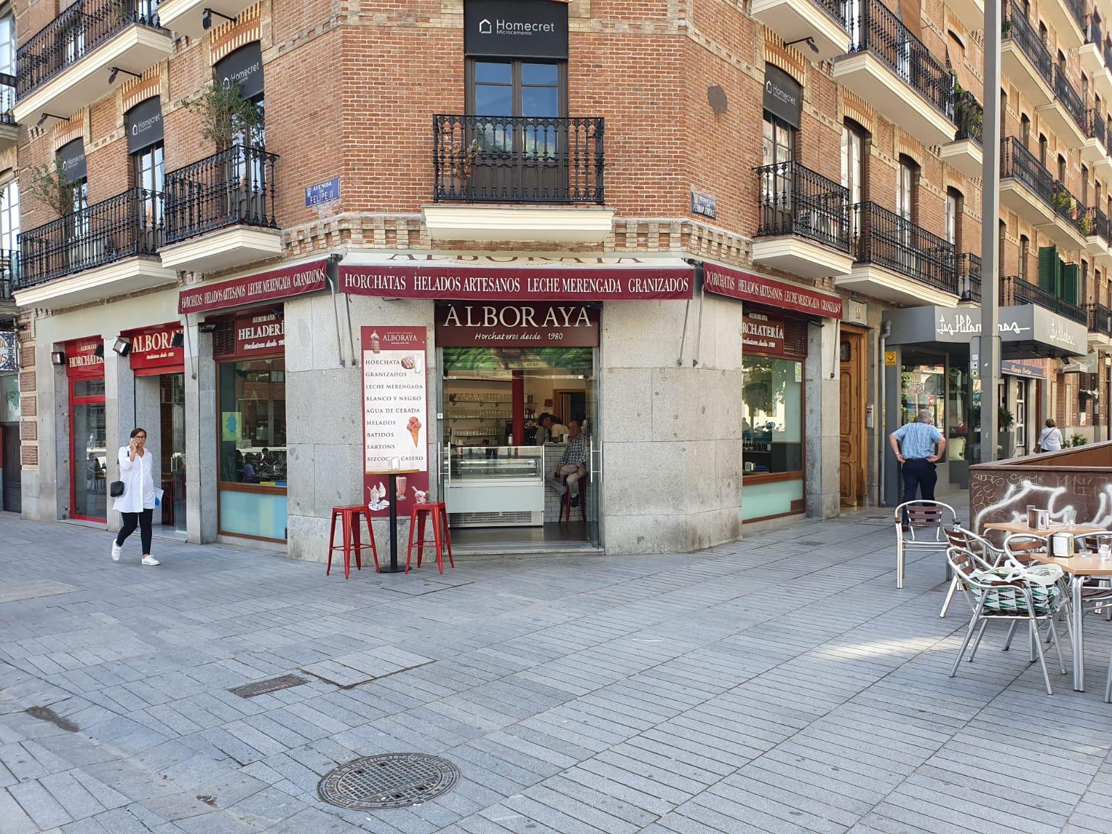cafetería en Madrid