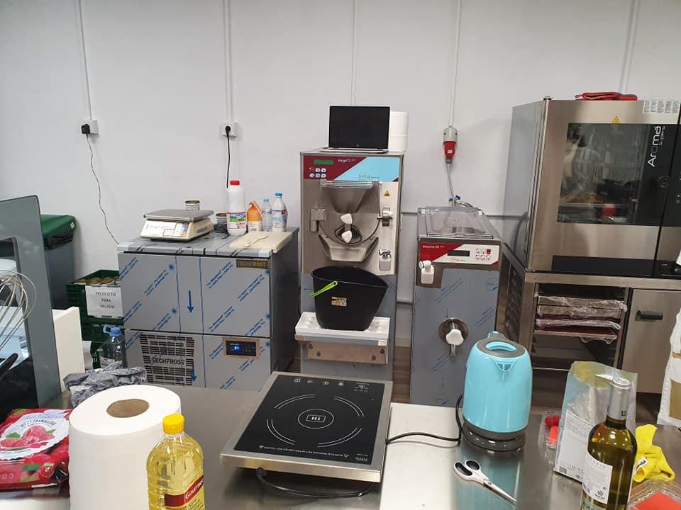 maquina para hacer helados escuela babbi